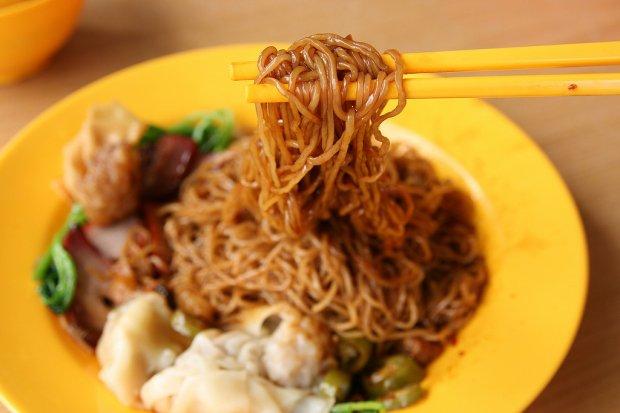 Món ăn ở Singapore: Wanton mee