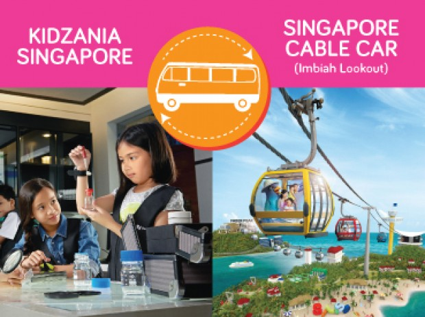 Fly & Dream Big with Singapore Cable Car and KidZania Promo