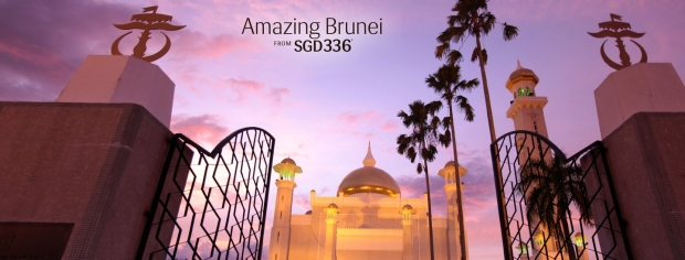 Fly to Brunei with Royal Brunei Airlines from SGD336