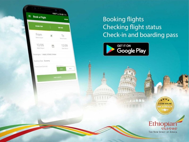 ETHIOPIAN AIRLINES APP