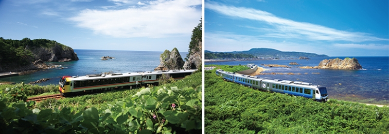 resort shirakami joyful trains
