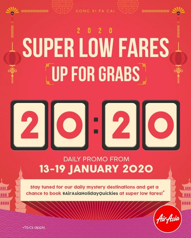 Super Low Fares Up for Grabs on AirAsia