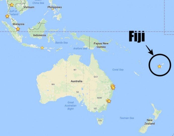 As Fiji Is Made Up Of A Few Isolated Islands It Not Part Any The Seven Continents However Considered Oceania