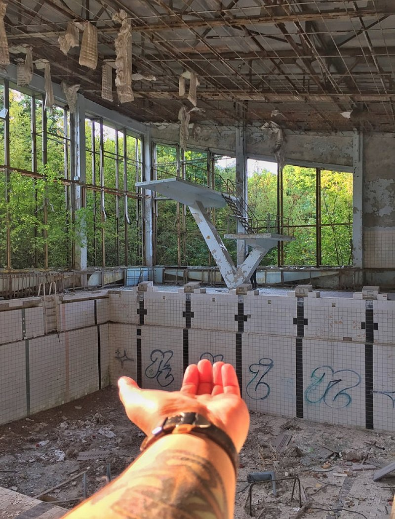 radioactive place chernobyl