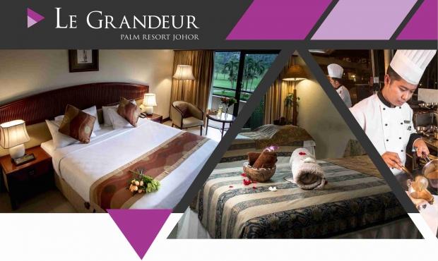 WEB DEAL - Bed & Breakfast Offer at Le Grandeur Palm Resort Johor