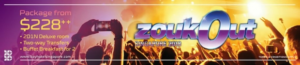 ZoukOut Package 2018 - Special Deal at Bay Hotel Singapore