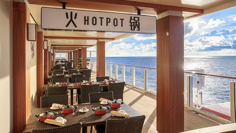 Hot Pot at World Dream Cruise Super Seacation