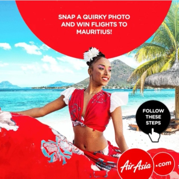 WIN a Pair of Return Flight Vouchers to Mauritius from AirAsia