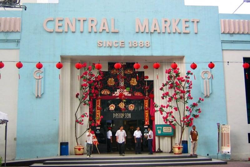 Lịch Trình Du Lịch Kuala Lumpur central market chợ trung tâm