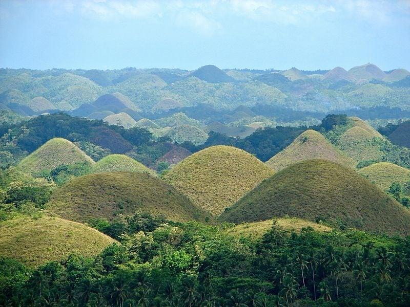 Bohol calamity prone areas philippines