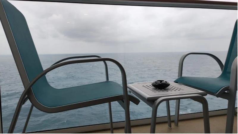 Balcony at World Dream