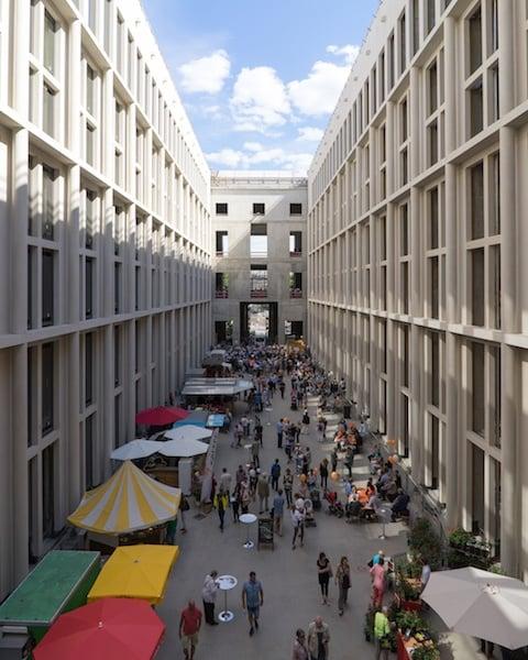 Humboldt Forum's Passage courtyard