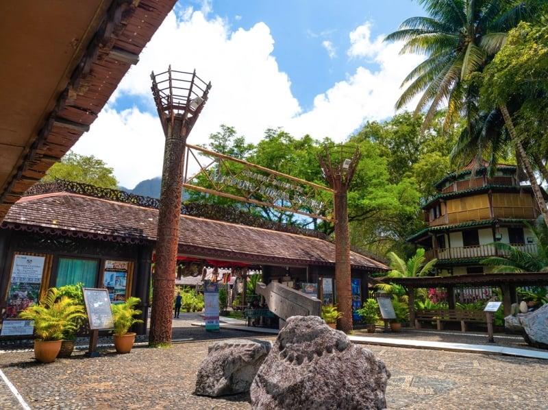 sarawak cultural village exterior