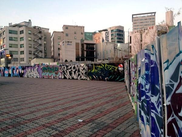 graffiti in Seoul