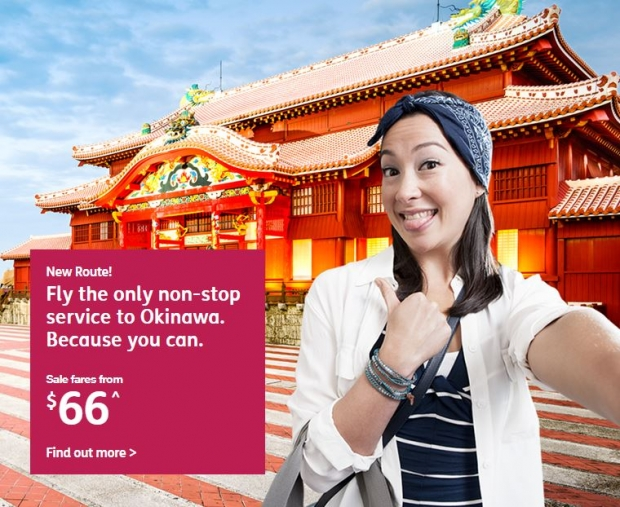 Fly Non-stop to Okinawa with Jetstar from SGD66