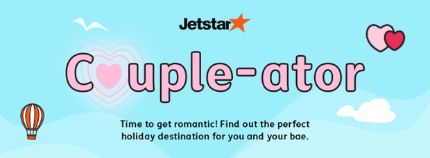 WIN Flights from Jetstar with Couple-ator Contest