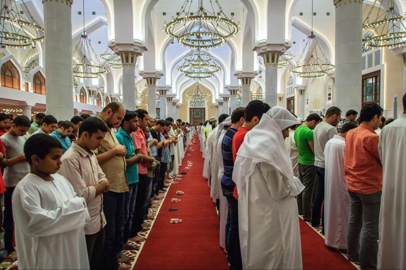 local Muslim community