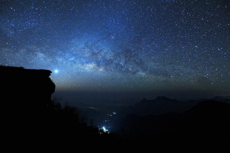 stargazing thailand Phu Chi Fah