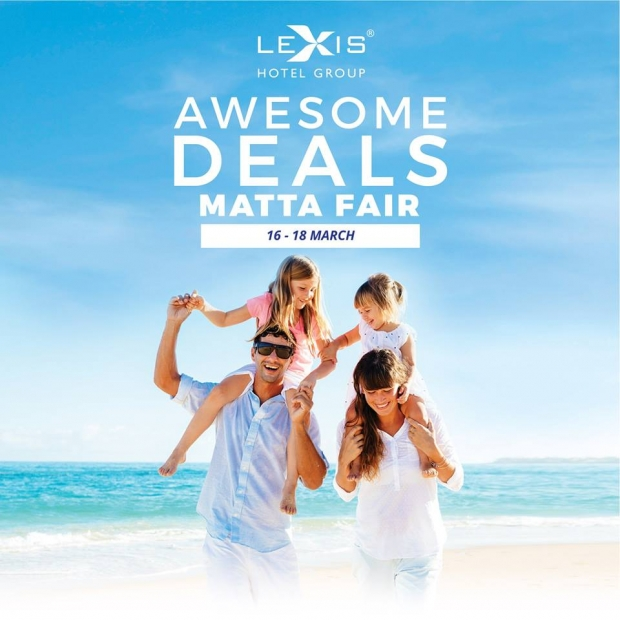 Awesome Deals for Lexis Hotel Group this MATTA Fair