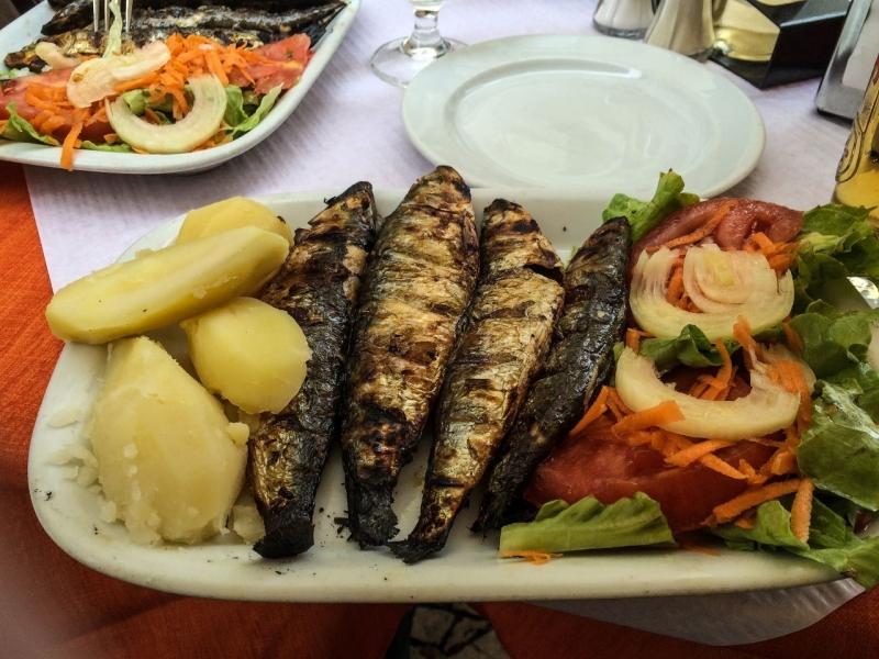 Lisbon Grilled Sardines