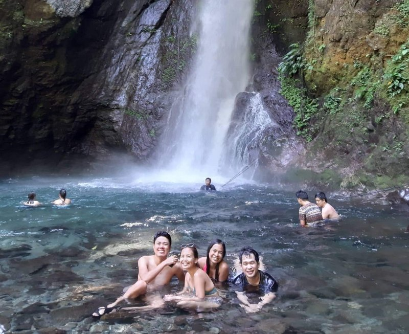 waterfalls near manila: ditumabo falls
