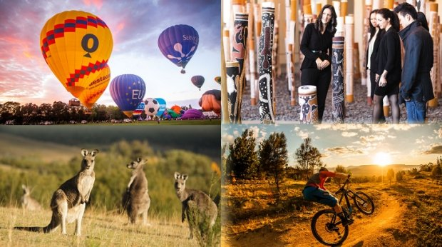 Explore Canberra with Singapore Airlines