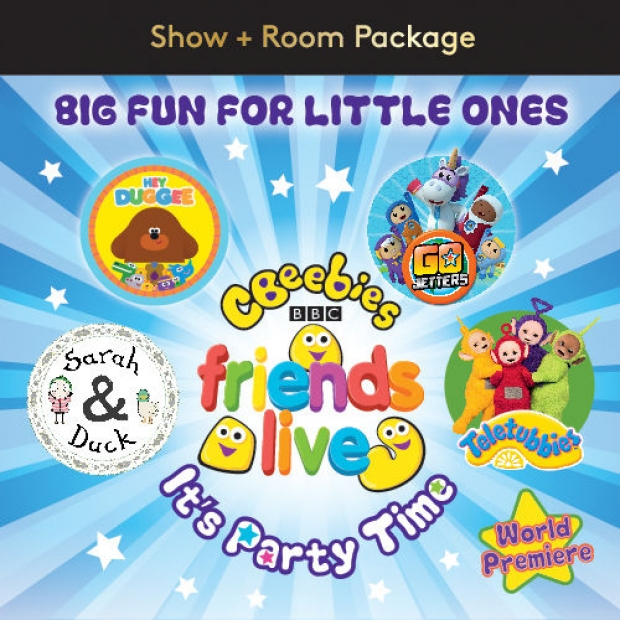 """CBeebies & Friends – """"It's Party Time""""! Room Package in Resorts World Genting"""