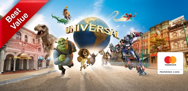 Mastercard® Exclusive: Buy Universal Studios Singapore Adult One-Day Ticket at SGD79 and get FREE SGD5 Meal Voucher + Tote Bag (worth SGD16.90)