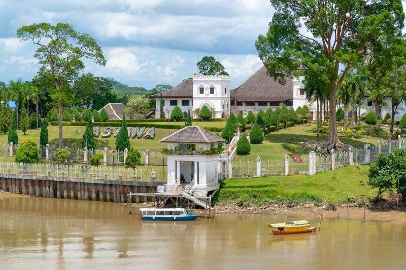 the astana in kuching