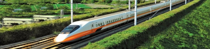 taiwan train and rail system