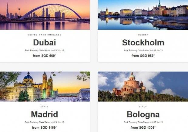 Discover the World with Flights on Emirates from SGD669 1