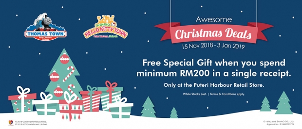 Awesome Christmas Deals for Puteri Harbour Attractions