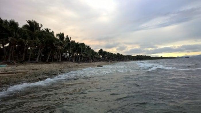beach in samar