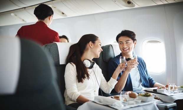 Special Two-to-Travel Business Class fares from SGD540 on Cathay Pacific with American Express
