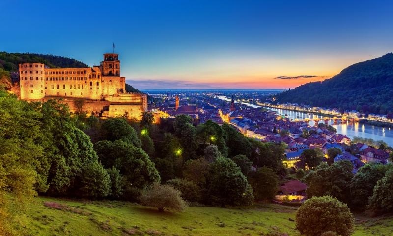 German castles: Heidelberg Castle