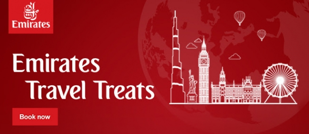 Up to 50% OFF Online Fares from SGD389 all-in return with Emirates
