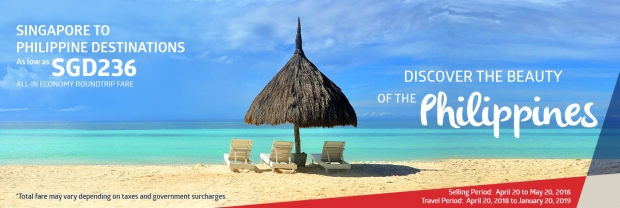 Explore Philippine Destinations from SGD236 with Philippine Airlines