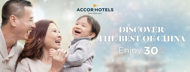 Enjoy 30% Savings while Discovering the Best of China with Accorhotels