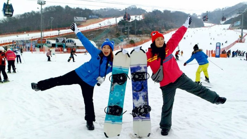 how to pick the right ski resort for your winter trip to korea. Black Bedroom Furniture Sets. Home Design Ideas