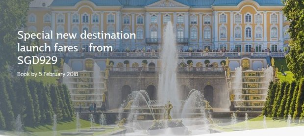 Special New Destination Launch Fares from SGD929 to Europe with Qatar Airways