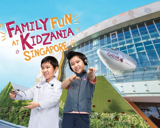 Up to 20% off* Regular-Priced Admission Tickets in KidZania Singapore with Maybank Card