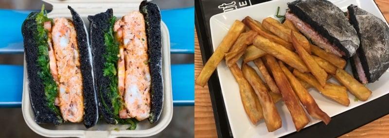 O Prego da Peixaria Salmon Burger