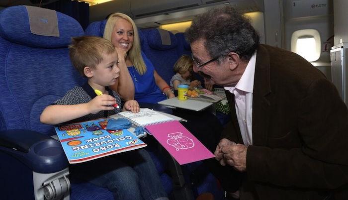 british airways flight tips kids