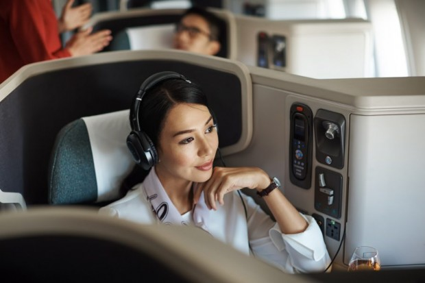 Special Business Class fares from SGD$540 with Cathay Pacific, UOB Reserve, Visa Infinite and Privilege Banking Cards