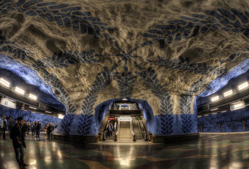 metro stations around the world