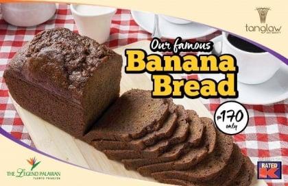 Tanglaw's Famous Banana Bread