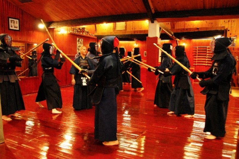 Place to learn kendo