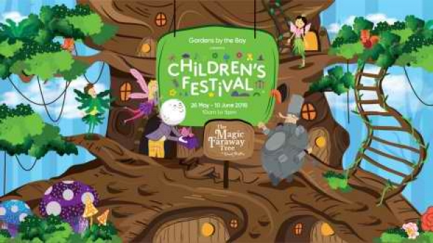 Children's Festival Child Ticket Promotion in Gardens by the Bay Singapore