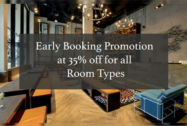 Early Booking Promotion with Up to 35% Savings at Hotel Yan Singapore