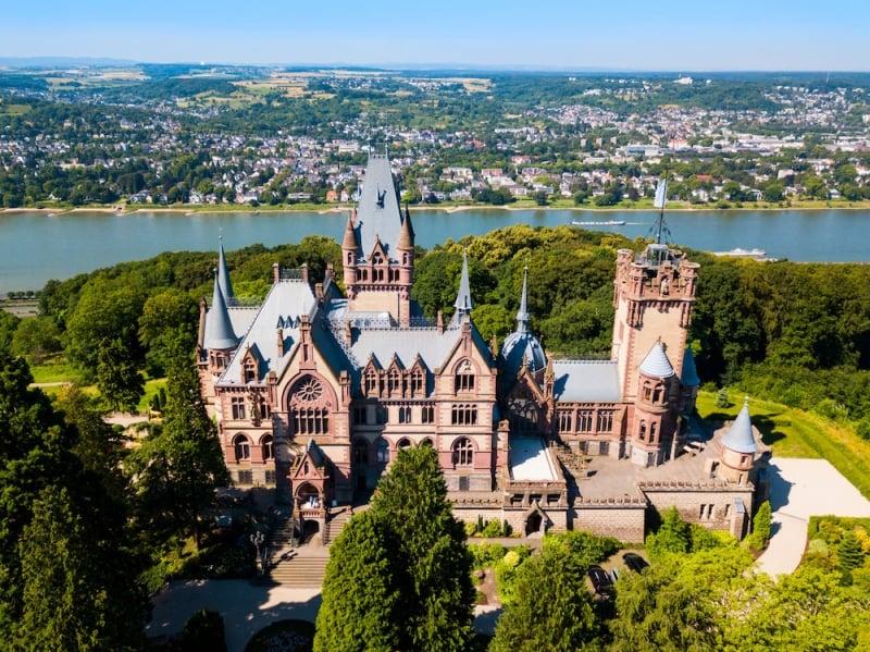 German castles: Drachenburg Castle